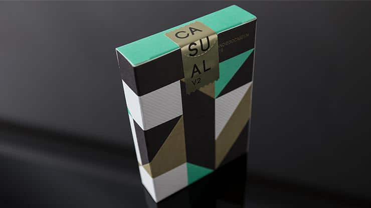 Casual V2 Playing Cards by Paul Robaia Alt2