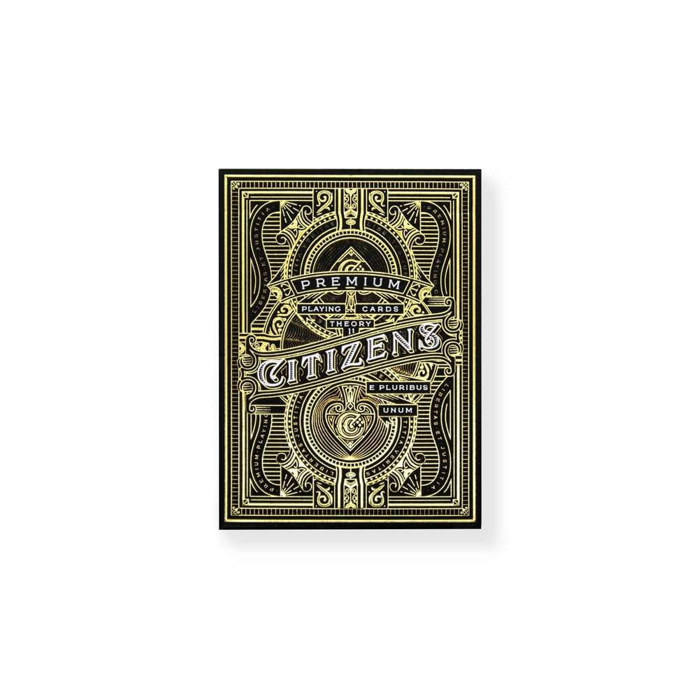Citizens Theory11 Playing Cards Galerie