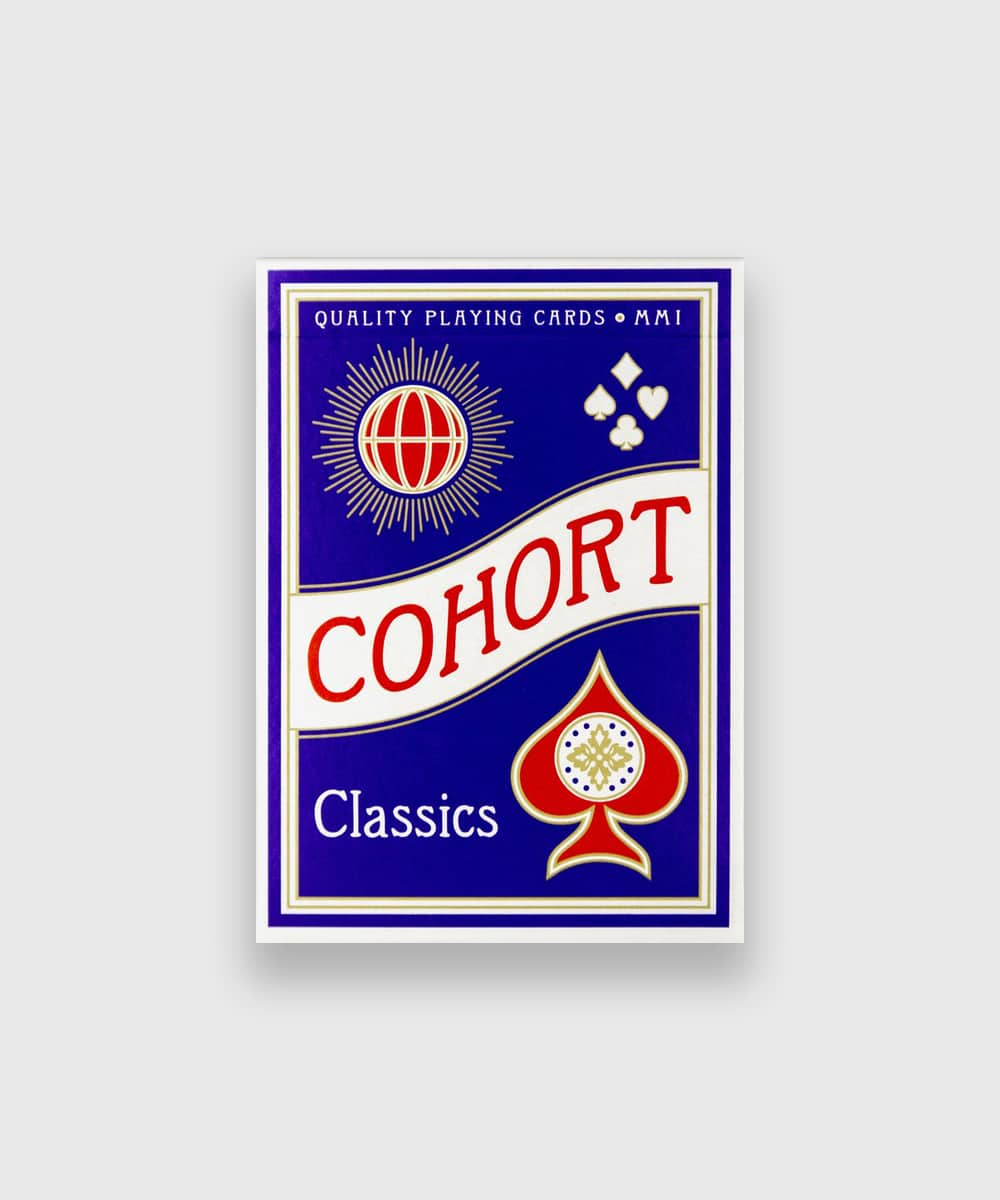 Cohort Red Playing Cards Galerie