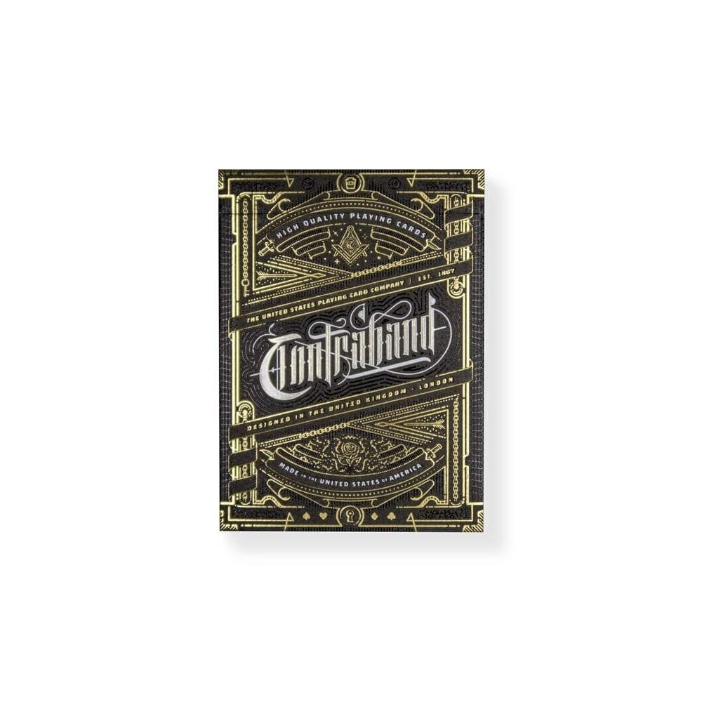 Contraband Theory11Playing Cards Galerie