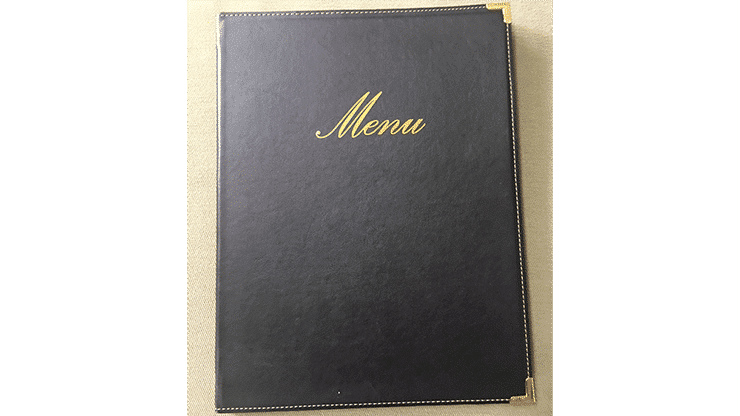 Dining Out The Menu Trick by David Garrard and Jim Steinmeyer Alt2