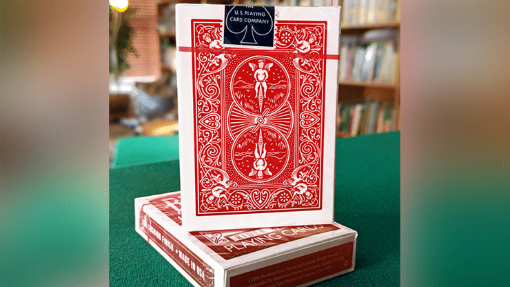 Experts-Thin-Crushed-Printed-on-Web-Press-Rider-Back-Back-Red-Playing-Cards-