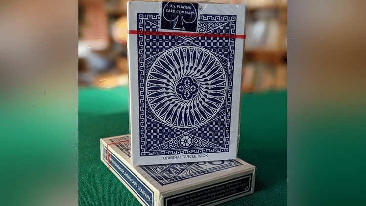 Experts-Thin-Crushed-Printed-on-Web-Press-Tally-Ho-Circle-Back-Blue-Playing-Cards-
