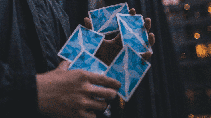 Frozen Art of Cardistry Playing Cards by Bocopo Alt4