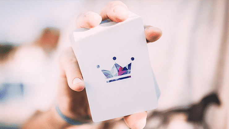 Frozen Art of Cardistry Playing Cards by Bocopo Alt5