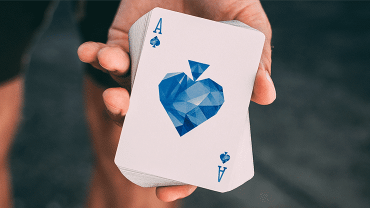 Frozen Art of Cardistry Playing Cards by Bocopo Alt6