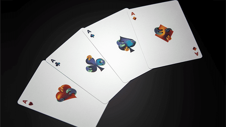 Furious Skull Playing Cards by Riffle Shuffle alt 1