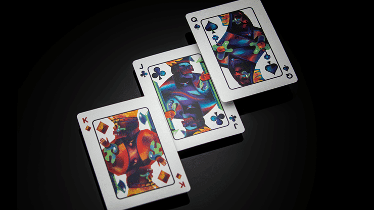 Furious Skull Playing Cards by Riffle Shuffle alt 3