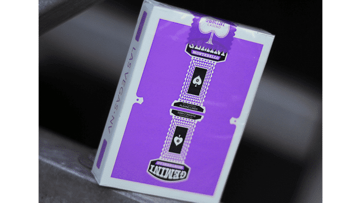 Gemini Casino Purple Playing Cards Alt1