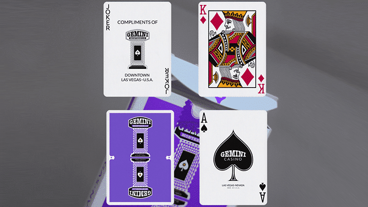 Gemini Casino Purple Playing Cards Alt3