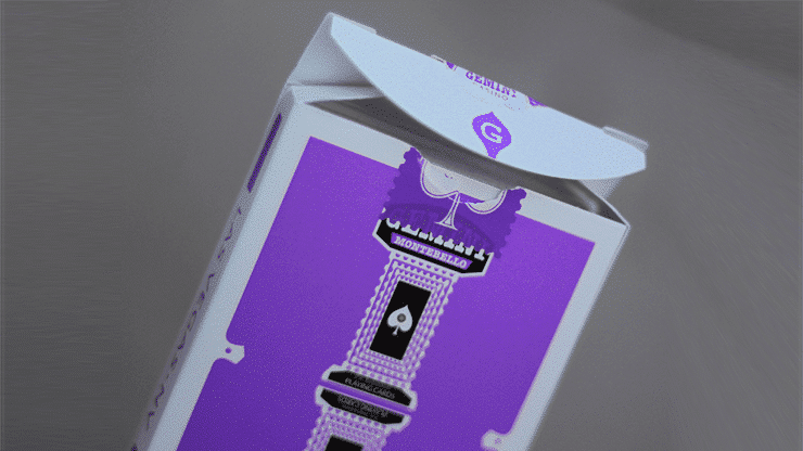 Gemini Casino Purple Playing Cards
