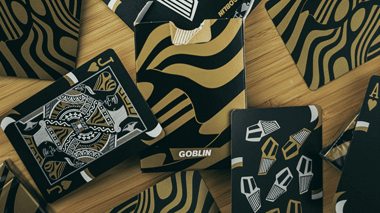 Gold Goblin Playing Cards by Gemini Alt2