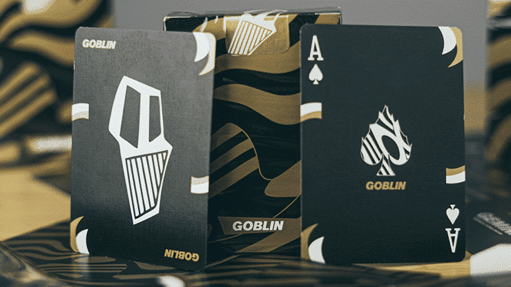 Gold Goblin Playing Cards by Gemini Alt3