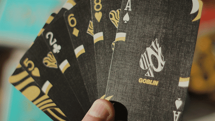 Gold Goblin Playing Cards by Gemini Alt6