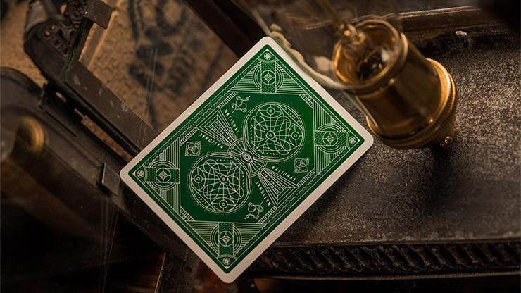 Green National Playing Cards by theory11 Alt3