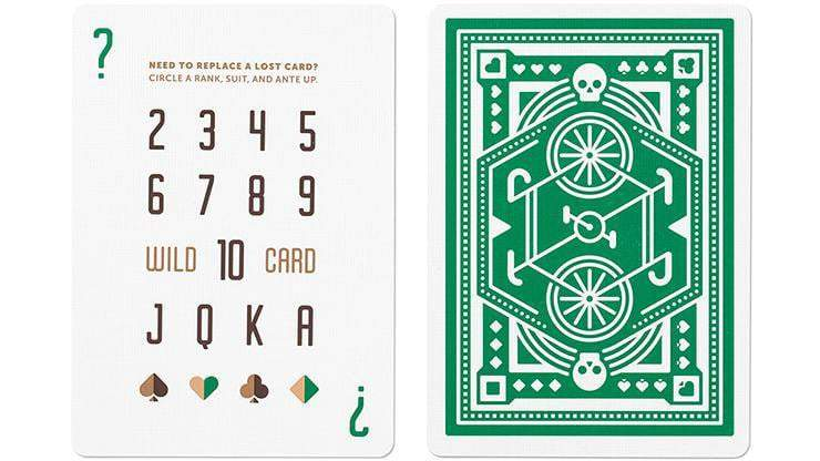 Green Wheel Playing Cards by Art of Play Alt2