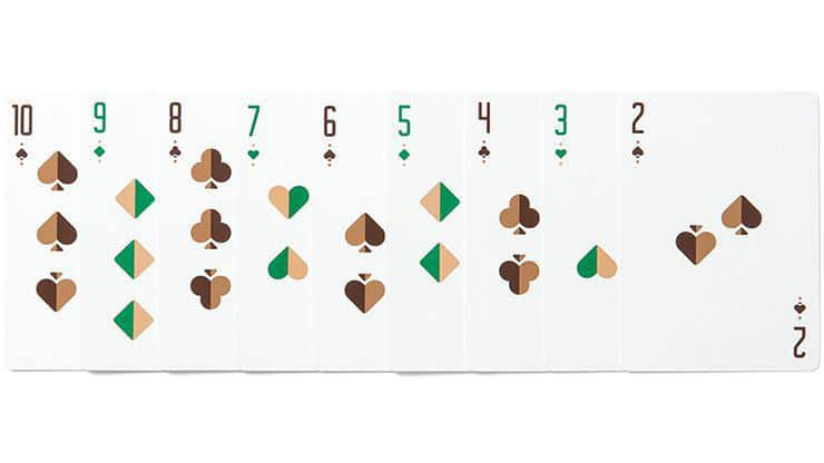 Green Wheel Playing Cards by Art of Play Alt6