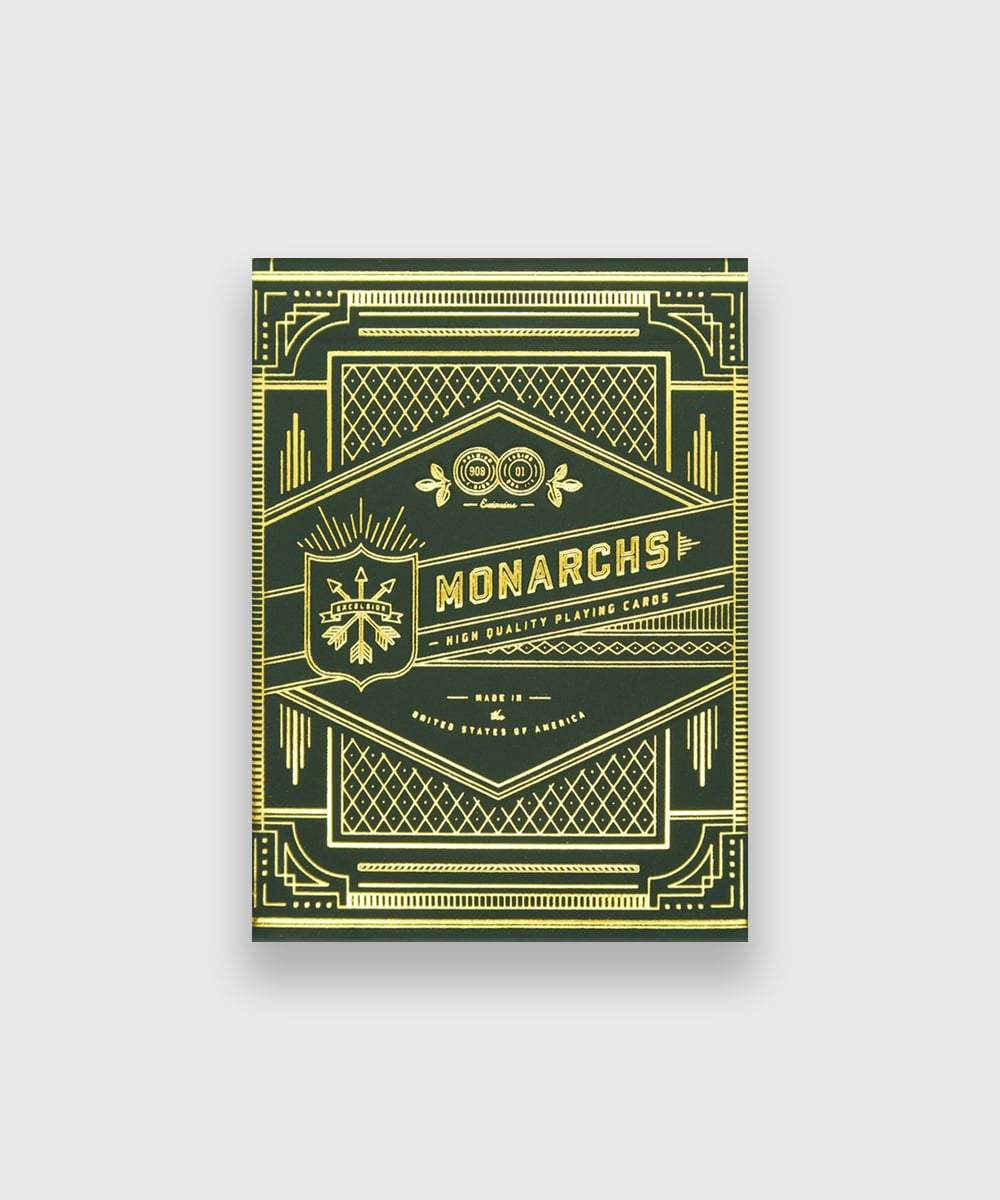 Green Monarch Playing Cards Galerie
