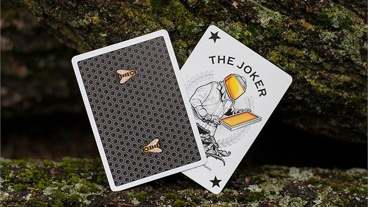 Honeybee Black Playing Cards alt3