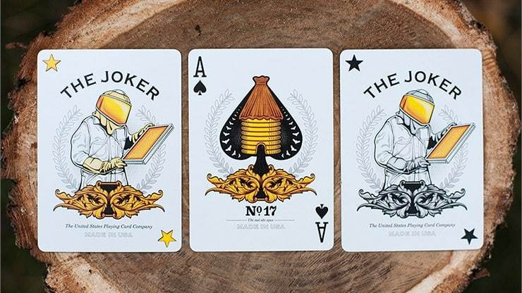 Honeybee Black Playing Cards alt4