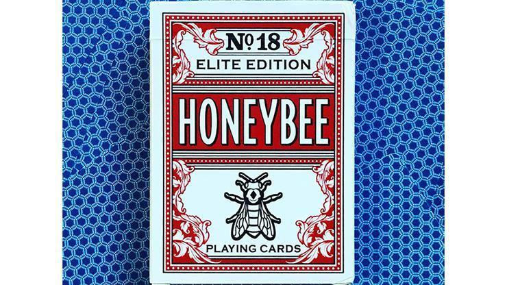 Honeybee Playing Cards Blue Elite Alt1