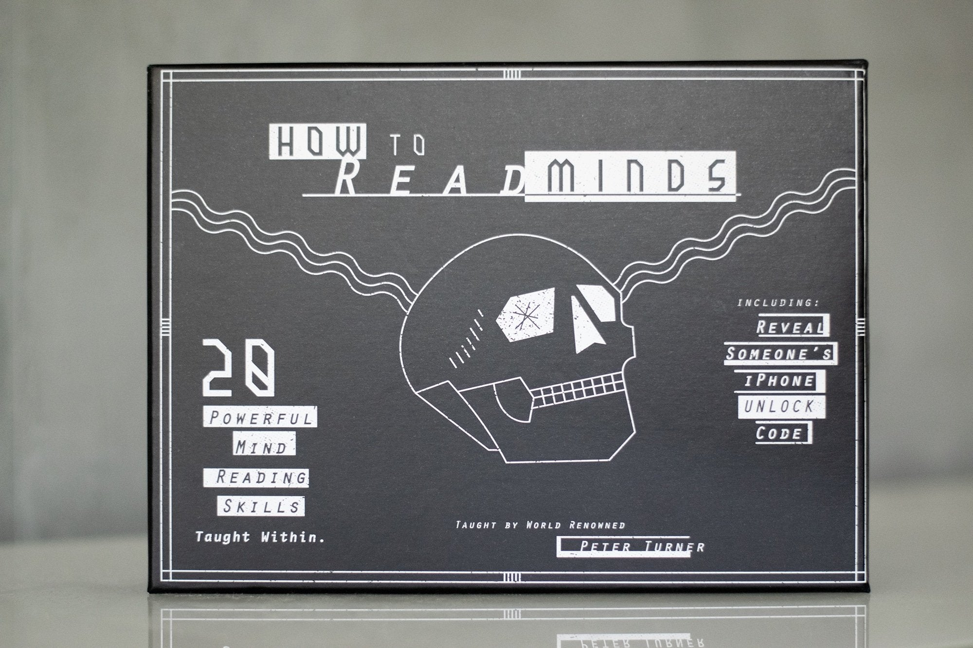 How to Read Minds Kit by Peter Turner Galerie