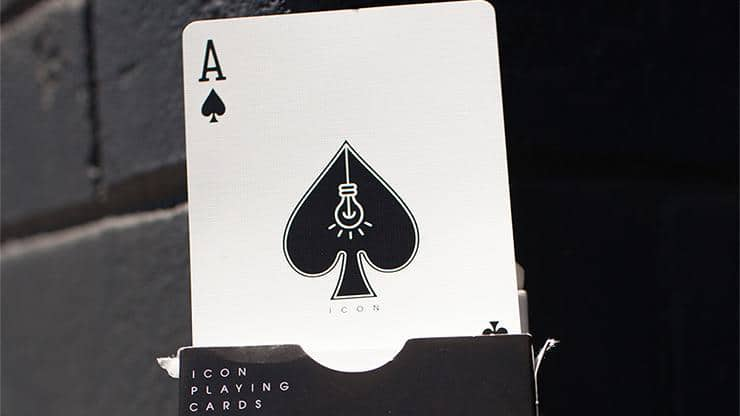 Icon Black Playing Cards Alt6