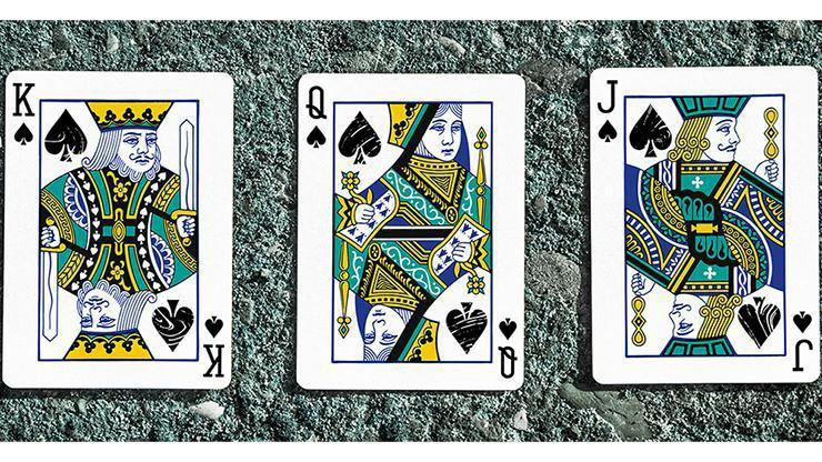 Juggler Marble Edition Playing Cards by Julio Ribera Alt5