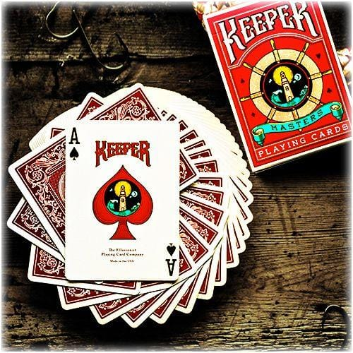 Keeper Playing Cards Red