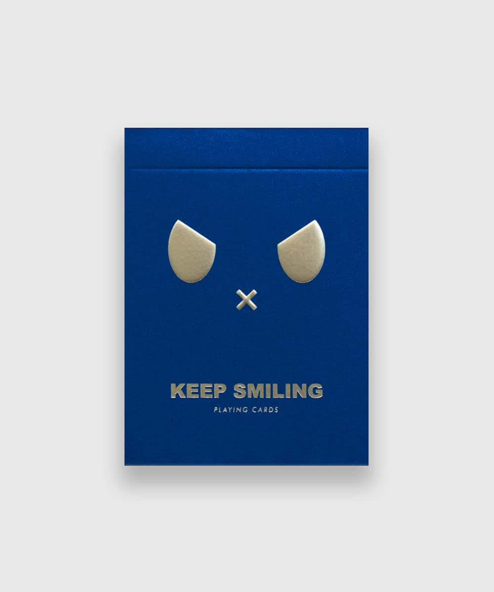 Keep-Smiling-Playing-Cards-by-Bocopo-Blue-Galerie