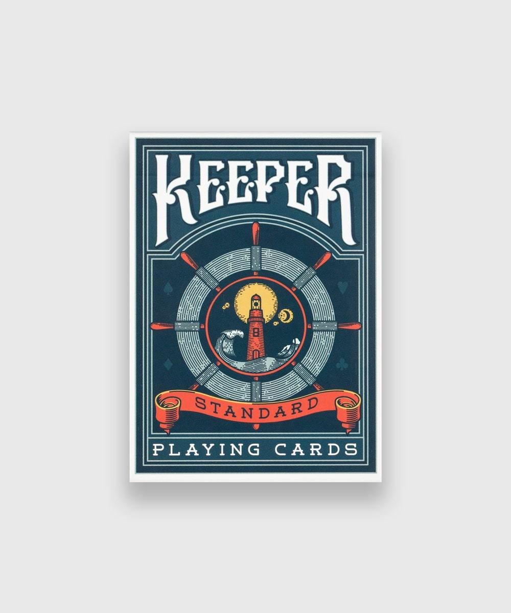Keeper Blue Playing Cards Galerie