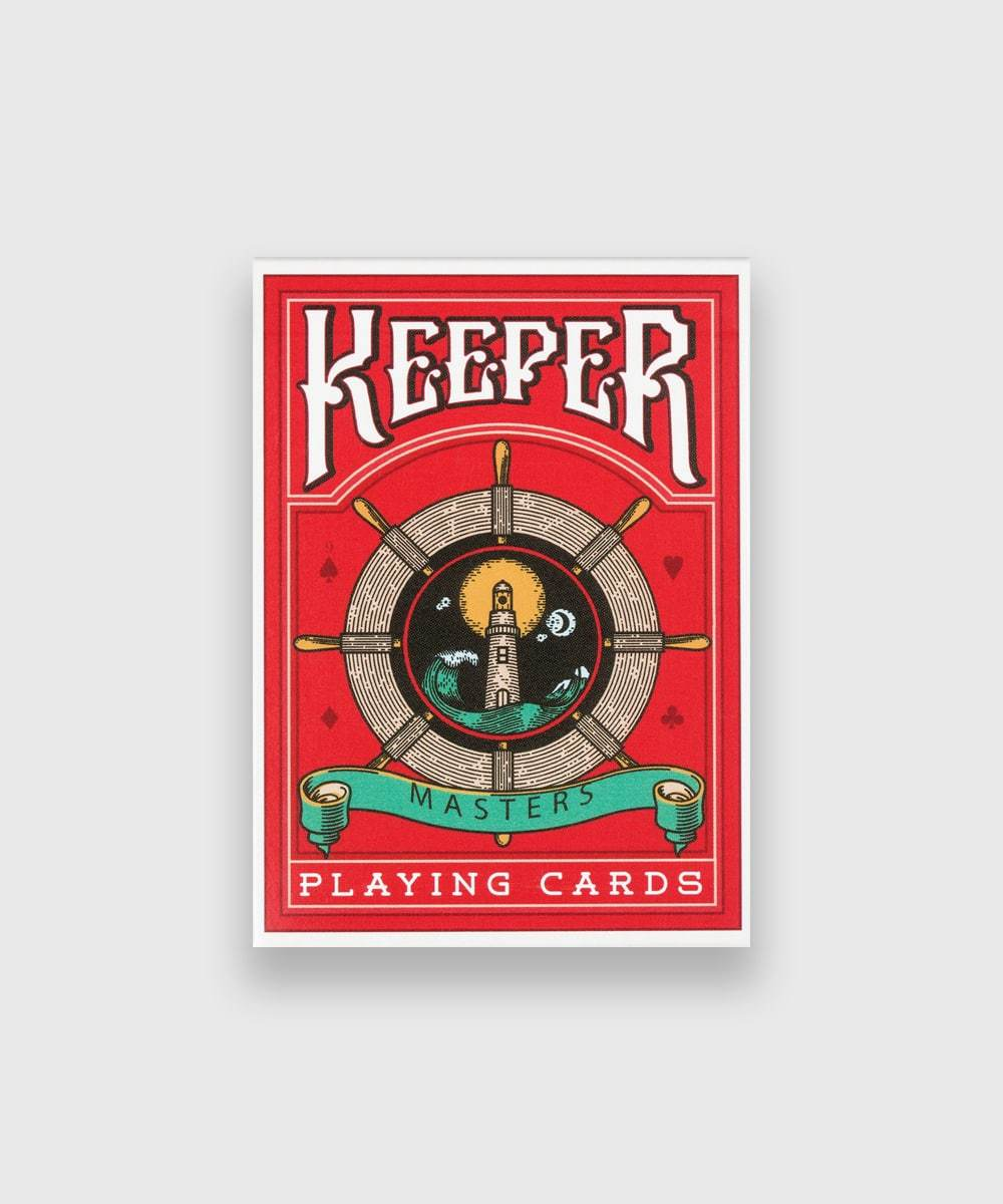 Keeper Red Playing Cards Galerie