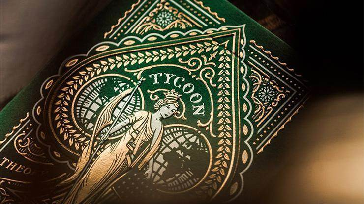 Limited Edition Green Tycoon Playing Cards Alt2