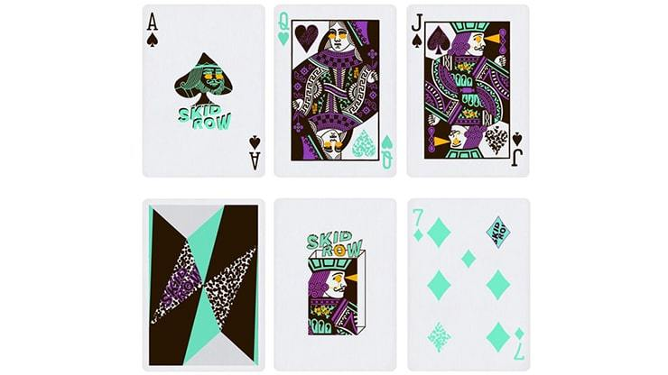 Limited Edition Skid Row Playing Cards by Toomas Pintson Alt6