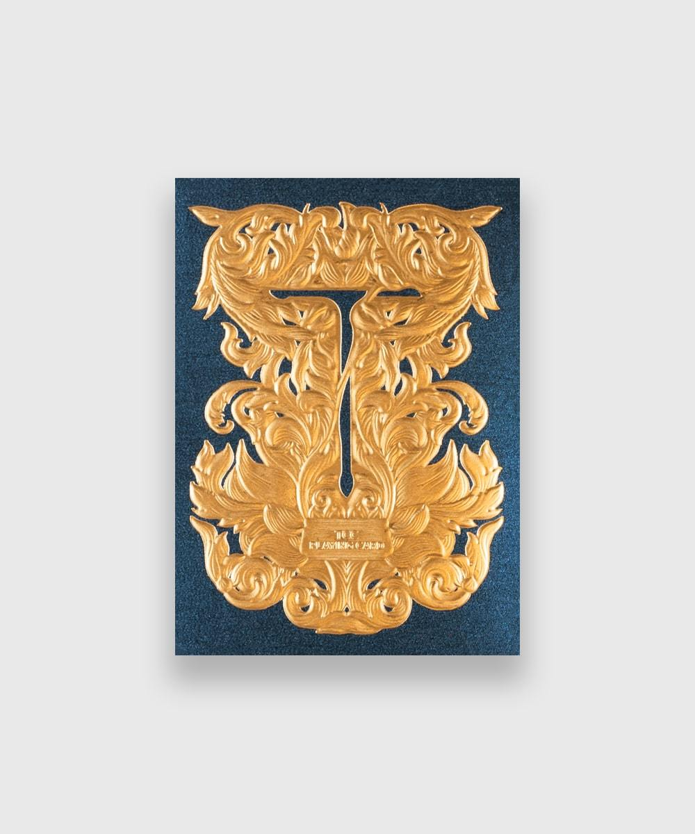 Luxury-Sword-T-Blue-Playing-Cards-by-TCC-Galerie