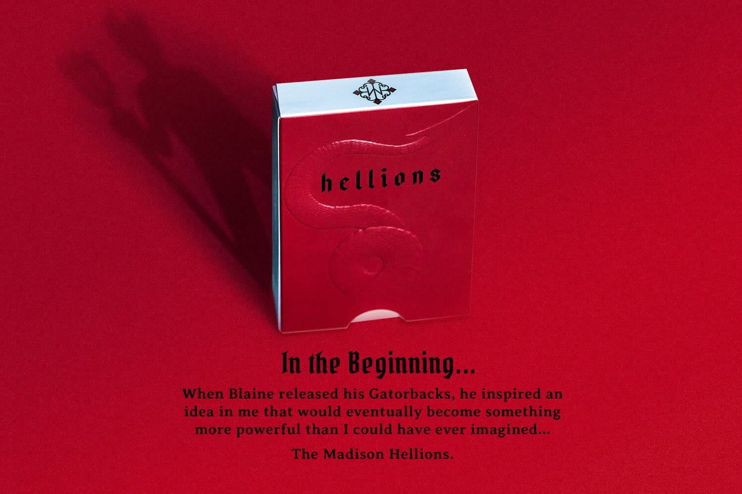Madison Hellions V4 Playing Cards Alt2