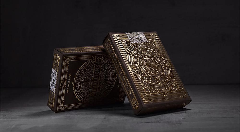 Medallion Playing Cards by theory11 Alt2