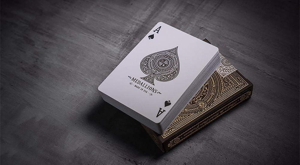 Medallion Playing Cards by theory11 Alt4