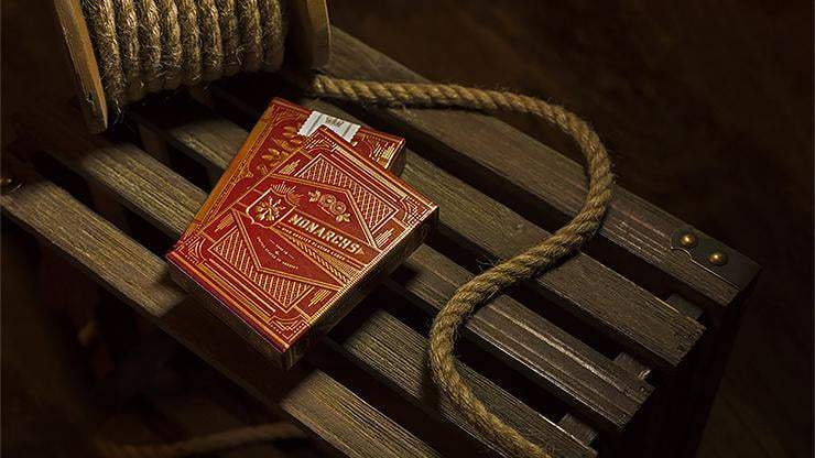 Monarch Playing Cards (Red) by theory11 Alt1