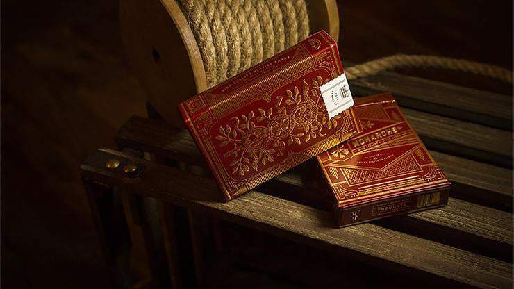 Monarch Playing Cards (Red) by theory11 Alt2