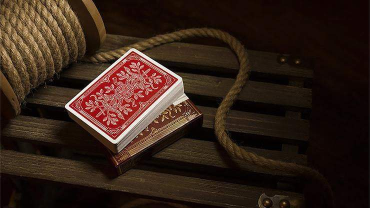 Monarch Playing Cards (Red) by theory11 Alt3