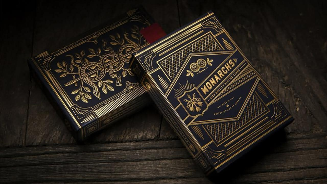 Monarch Playing Cards by theory11 Alt1