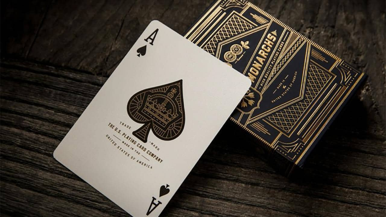 Monarch Playing Cards by theory11 Alt3