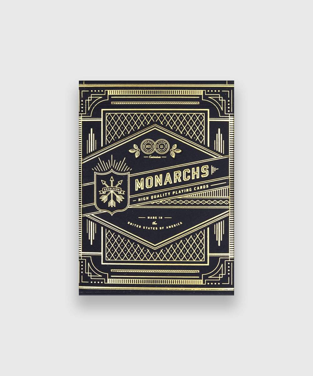 Monarch Playing Cards Galerie