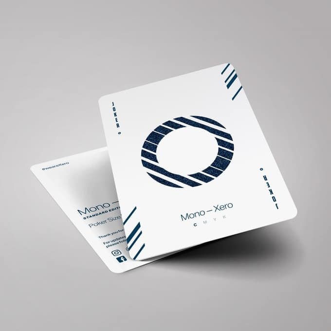 Mono Xero Playing Cards