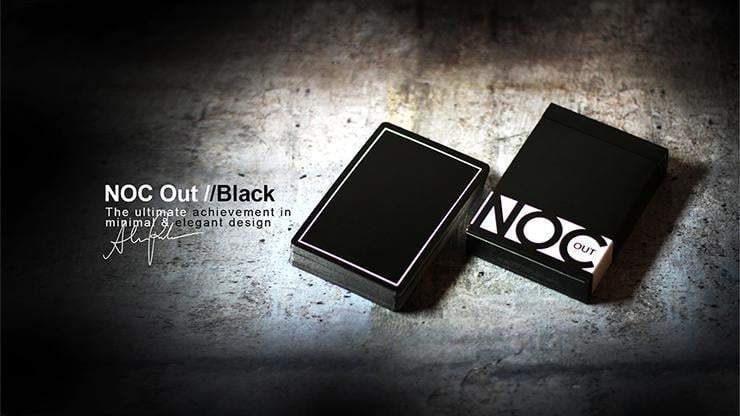 NOC Out-Black Playing Cards Alt1