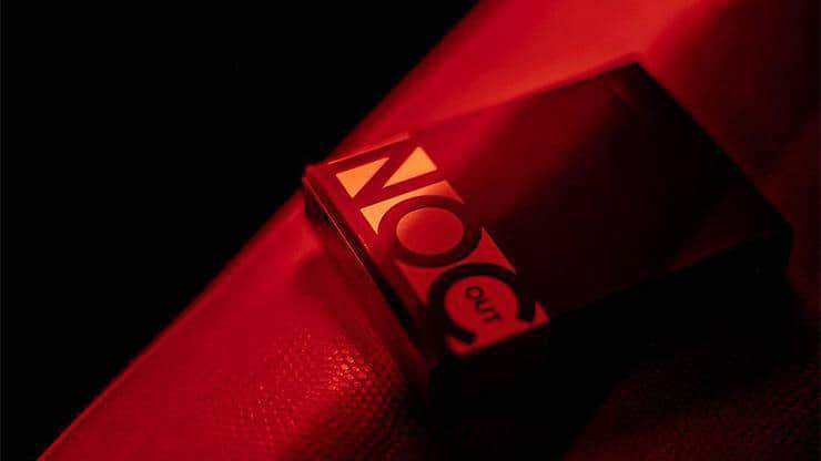 NOC Out- RED-GOLD Playing Cars Alt1