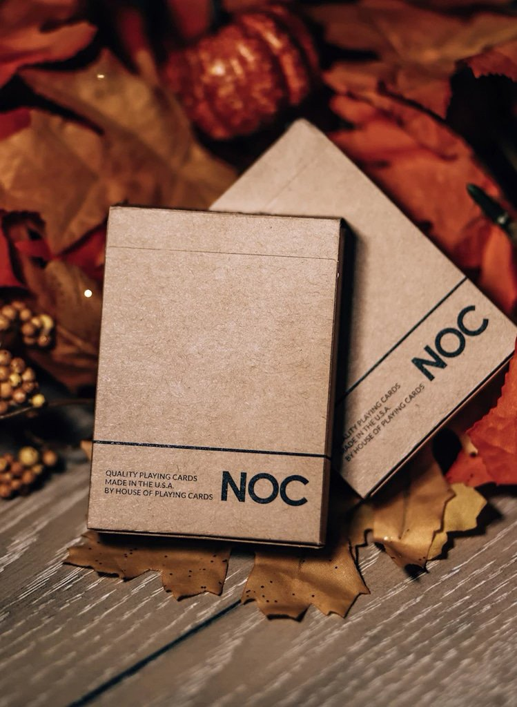 NOC on Wood Brown Playing Cards Alex Pandrea Alt1