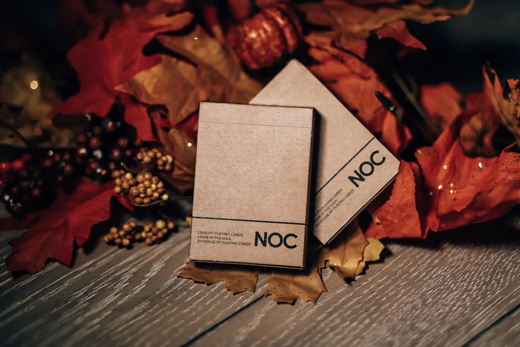 NOC on Wood Brown Playing Cards Alex Pandrea Alt2