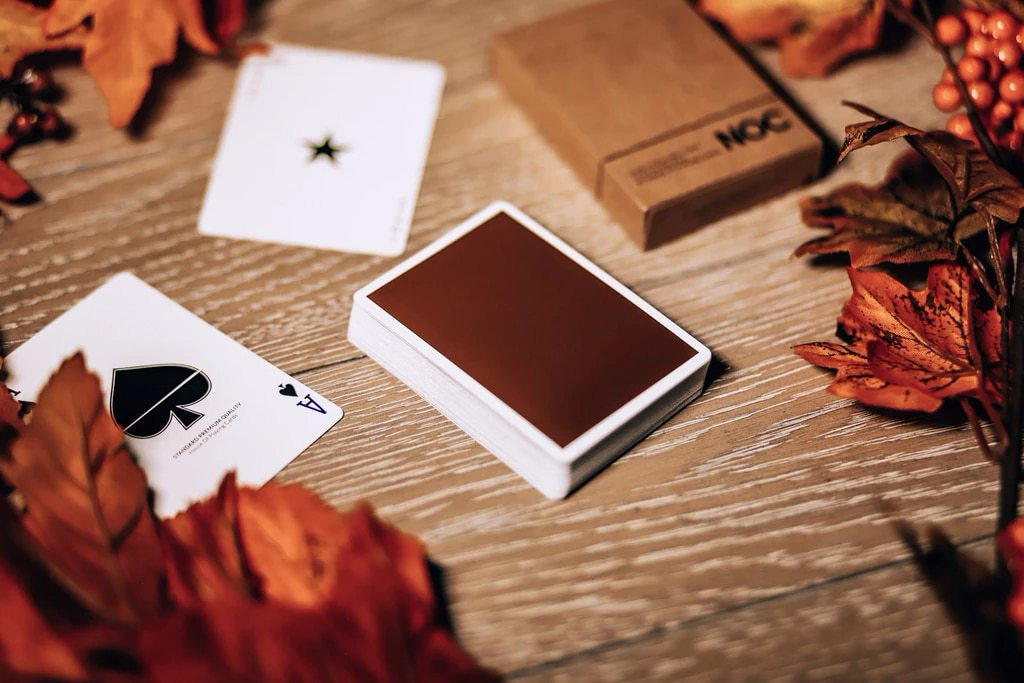 NOC on Wood Brown Playing Cards Alex Pandrea Alt5